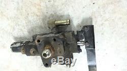 07 Kubota RTV 1100 RTV1100 dump bed lever handle hydraulic pump valve assembly