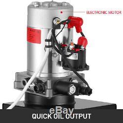 12 Quart Single Acting Hydraulic Pump 12V Dump Trailer