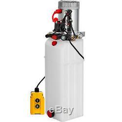 13 Quart Double Acting Hydraulic Pump Dump Trailer Repair Unit Pack Power Unit