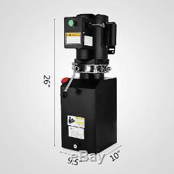 14l Car Lift Hydraulic Power Unit 60hz 1 ph Hydraulic Pump Dump Trucks 2.2kw