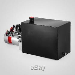 15 Quart Double Acting Hydraulic Pump Dump Trailer Lifting Car Iron
