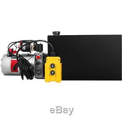 15 Quart Single Acting Hydraulic Pump Dump Trailer Remote Power Unit Repair
