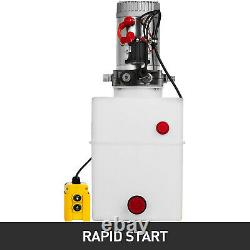20 Quart Single Acting Hydraulic Pump Dump Trailer Plastic Car Lift WHOLESALE