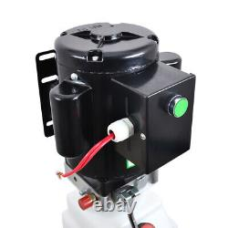220V 10L Single Acting Hydraulic Pump Dump Trailer Power Unit Lift for Car