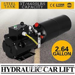 220v Car Lift Hydraulic Power Unit Auto Lifts Dump Trailer 50hz 1 Ph Car Truck
