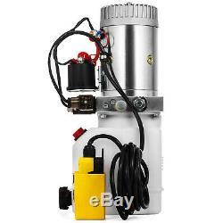 3 Quart Double Acting Hydraulic Pump Dump Trailer Repair Power Unit Unit Pack