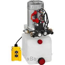3 Quart Double Acting Hydraulic Pump Dump Trailer Reservoir Car Control Kit