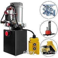 3 Quart Single Acting Hydraulic Pump Dump Trailer Repair Lift Crane