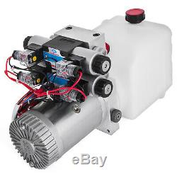 4.5L Double Solenoid Double Acting Hydraulic Pump Dump Remote Power Unit