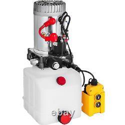 4.5L Single Acting Hydraulic Pump Dump Trailer Power Unit Control Kit Lift