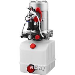 4 Quart Double Acting Hydraulic Pump Dump Trailer Crane P Power Unit