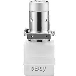 4 Quart Double Acting Hydraulic Pump for Dump Trailer 12V Power Unit