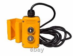 4 Wire Dump Trailer Remote Control Switch fits Double Acting Hydraulic Pumps