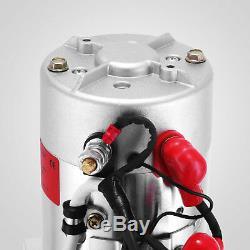 8 Quart Double Acting Hydraulic Pump Dump Trailer Power Unit Unit Pack Lift