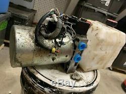 Double Acting Dump Trai Hydraulic Pump KTI 12 Volt DC 4442 3200PSI 1245-15 parts