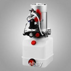 Double Acting Hydraulic Pump Trailer Quart plastic Reservoir for Dump Trailer