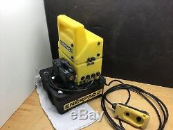 ENERPAC NICE! PUD1100B Hydraulic Pump, 115V 10,000 PSI
