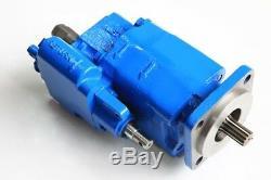 Hydraulic Dump Pump G102-LMS-20, CCW, Ref Parker G102-1-2.0-L-4S Metareis MH102-G