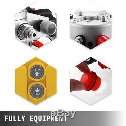 Hydraulic Dump Trailer Pumps 4/6/8/10/15L Plastic/Iron Tank Single/Double Acting