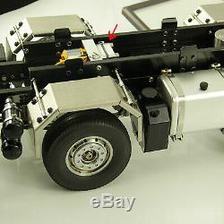 Hydraulic Gear PumpMetal Power Pump con Relief Valve Kit Para 1/14 RC Dump Truck