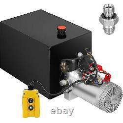 Hydraulic Power Unit Hydraulic Pump Double Acting 20 Quart Dump Trailer Pack