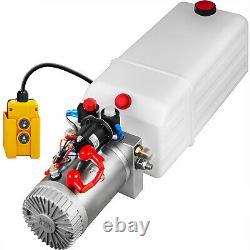 Hydraulic Power Unit Hydraulic Pump Double Acting 8 Quart Reservoir Dump Trailer