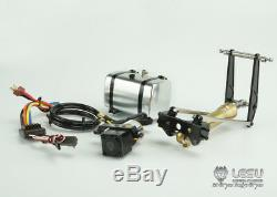 LESU Hydraulic Oil Cylinder System Pump ESC for 1/14 RC TAMIYA Dump Truck Model
