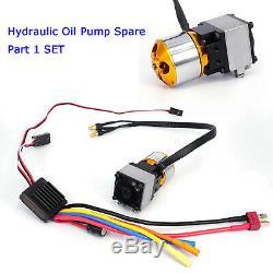 LESU Hydraulic Oil Pump Urea Cans kit for 1/16 1/14 RC DIY TAMIYA Dump Truck Car