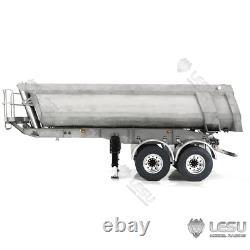 Metal Dump Trailer Hydraulic ESC Cylinder Pump for 1/14 RC TAMIYA Tractor Truck