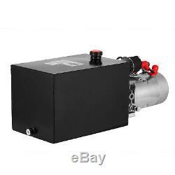 New Single Acting Hydraulic Pump 12v Dump Trailer 12 Quart