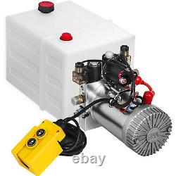 VEVOR 20 Quart Double Acting Hydraulic Pump Dump Trailer Unloading Car Repair