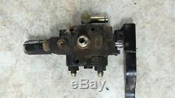07 Kubota Rtv 1100 Rtv1100 Benne Béquille Ensemble Soupape De La Pompe Hydraulique