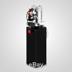 10 Pintes Simple Effet Pompe Hydraulique Kit Dump De Remorque De Contrôle À Distance 12v