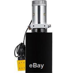12 Pintes Double Effet Pompe Hydraulique Remorque À Déchargement 12v Unité Réservoir