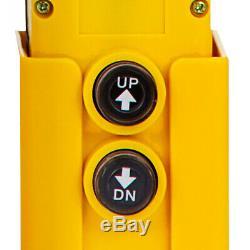 12 Pintes Double Effet Pompe Hydraulique Remorque À Déchargement D'alimentation 12v Unité Déchargement
