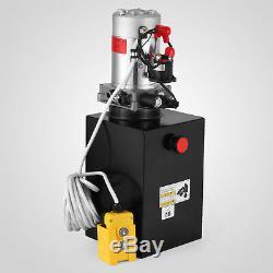 12 Pintes Pompe Hydraulique Simple Effet 12v Dump Trailer