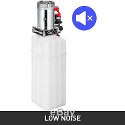13 Pintes Simple Effet Pompe Hydraulique Remorque À Déchargement Électrique Unité De Grue Déchargement