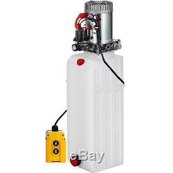 13 Pintes Simple Effet Pompe Hydraulique Remorque À Déchargement Unité D'alimentation De Grue Unité Pack