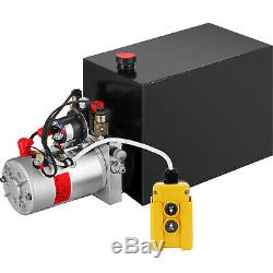 15 Pintes Double Effet Pompe Hydraulique Remorque À Déchargement Camion À Benne Basculante Rv Power Unit