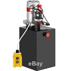 15 Pintes Double Effet Pompe Hydraulique Remorque À Déchargement Kit De Contrôle Par Gravité Vers Le Bas Rv