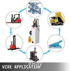 15 Pintes Double Pompe Hydraulique Par Intérim Dump Remorque Grue De Réparation À Distance