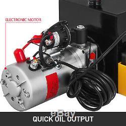 15 Pintes Simple Effet Pompe Hydraulique Remorque À Déchargement À Distance De Réparation Unité D'alimentation
