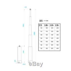 150mm Pompe Hydraulique Cylindre Set Lesu Modèle Rc 1/14 Diy Tamiya Camion À Benne Basculante