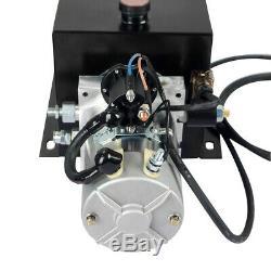 16 Pintes Pompe Hydraulique Remorque À Benne Basculante Groupe Hydraulique En Acier / Simple Effet