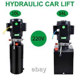 2.64/3.7 Soulevez Le Kit De Commande De Voiture De Remorque À Pompe Hydraulique À Action Unique Gallon