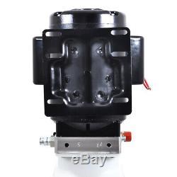 2,64 Gallon Simple Effet Pompe Hydraulique Dump Remorque Réparation Voiture Électrique 220 V Unité