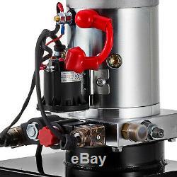 20 Pintes Simple Effet Pompe Hydraulique Dump Remorque 12v Unité Kit Pack Contrôle