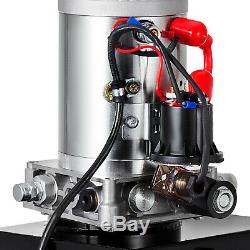 20 Pintes Simple Effet Pompe Hydraulique Remorque À Déchargement À Distance Unité Pack De Grue