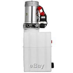 20 Pintes Simple Effet Pompe Hydraulique Remorque À Déchargement Contrôle Kit Grue Power Unit