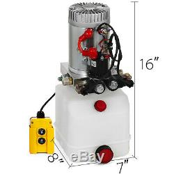 3 Pintes Double Effet Pompe Hydraulique Dump Remorque Réparation Unité D'alimentation Unité Pack